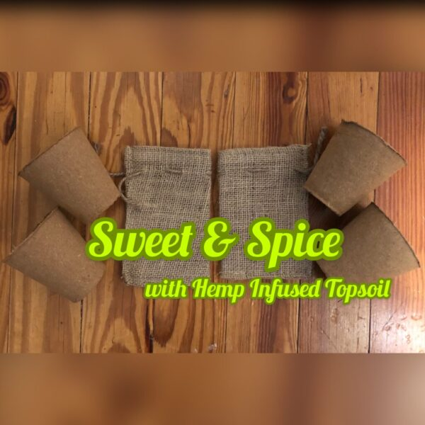 Homestead Sweet and Spice Organic Starter with Hemp Infused Topsoil